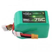 ACEHE 850mAh 6S 75C 22.2V LiPo Battery