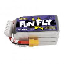 TATTU FunFly 1550mAh 6S 22.2V 100C LiPo Battery