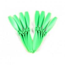 8x DYS 3020 2blade propeller green