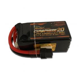 Dinogy Ultra Graphene 2.0 1000mAh 6S 22.2V 80C LiPo Battery