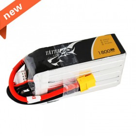 TATTU 6S 1800mAh 22.2V 75C Lipo battery