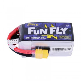 TATTU FunFly 1550mAh 4S 14.8V 100C LiPo Battery